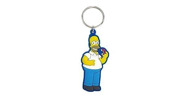 Amazon.com: Fox Homer Simpson Soft Touch PVC Llavero: Toys ...