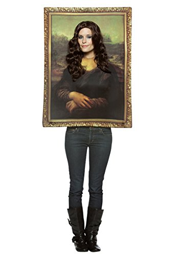 Rasta 6212 Mona Lisa Halloween Costume for (Costumes For Women Funny)