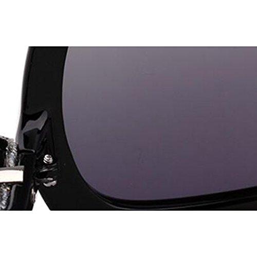 lunettes yeux rond UV lunettes B LE rétro marée A de soleil KAI yeux de de des protection personnalité visage soleil Lunettes polarisées Couleur TIqWUS