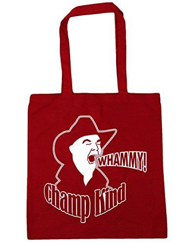 HippoWarehouse Whammy. Bolsa de la compra bolsa de playa 42cm x38cm, 10litros Classic Red