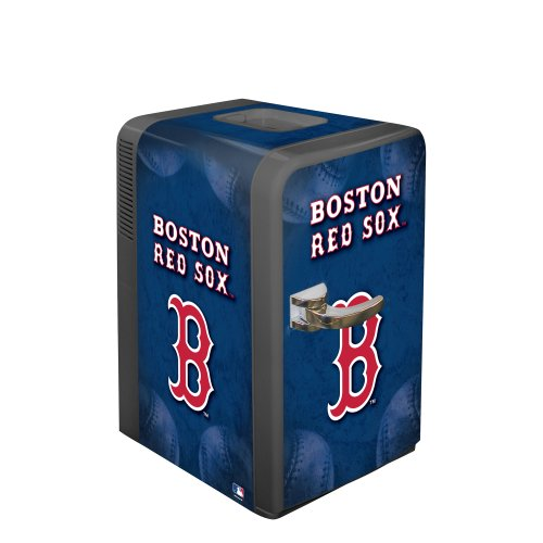 Boelter Brands MLB Boston Red Sox Portable Party Fridge, 15 Quarts ()