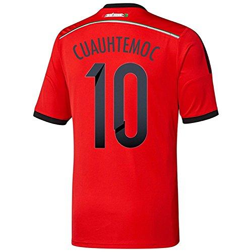 ドームポンプステンレスAdidas CUAUHTEMOC #10 Mexico Away Jersey World Cup 2014/サッカーユニフォーム メキシコ アウェイ用 ワールドカップ2014 背番号10 クアウテモク