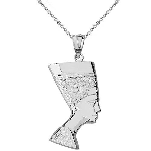 Egyptian Queen Nefertiti Pendant Necklace (16