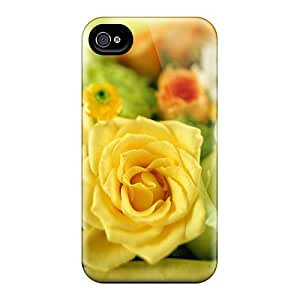 Snap-on Cases Designed For Iphone 6- Perfect Yellow Roses