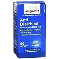 Walgreens Anti-Diarrheal, Caplets, 96 ea by Walgreens