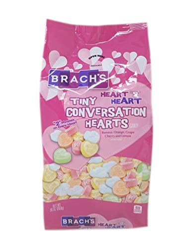 Brach's Tiny Conversation Hearts, Assorted Flavors, 30 Ounces