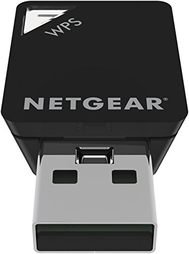 NETGEAR AC600 Dual Band Wi-Fi USB Mini Adapter (A6100) by NETGEAR (Image #2)