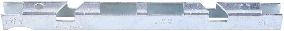 Mango Juego de afilado de motosierra Kit de limas de motosierra Gu/ía de archivo Medidor de profundidad de barra 8 piezas para limar motosierras para afilar
