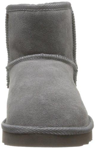Les Tropéziennes par M. Belarbi Flocon - Botas de cuero mujer gris - gris