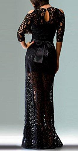 Kleid Damen X Schwarz schwarz Cocktail Trendy C schwarz vZpwq1I1