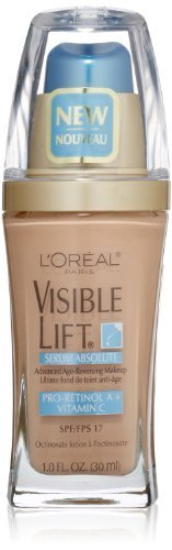 L'Oreal Paris Visible Lift Serum Absolute Advanced Age-Reversing Makeup, Nude Beige, 1.0 Ounces by L'Oreal Paris