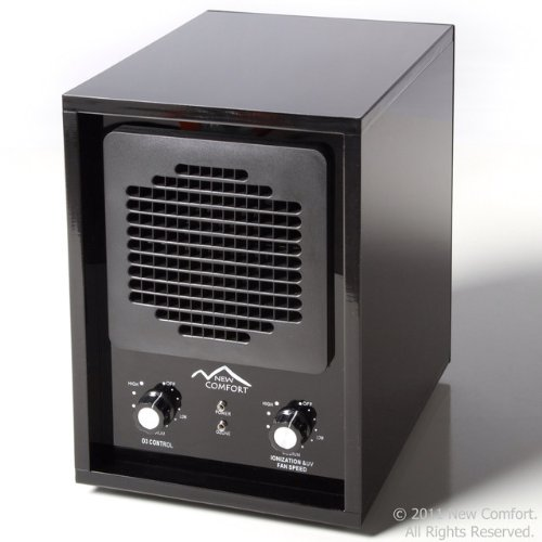 6 Stage Black Acrylic BA3500 New Comfort Ozone Air Purifier Cleaner Hepa UV Covers 3500