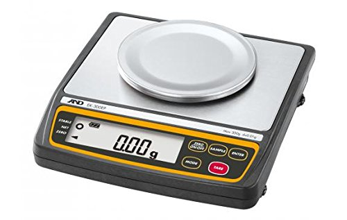 A&D Weighing EK-EP Instrinsically Safe Portable Balance, 300 g x 0.01 g - Instrinsically Safe