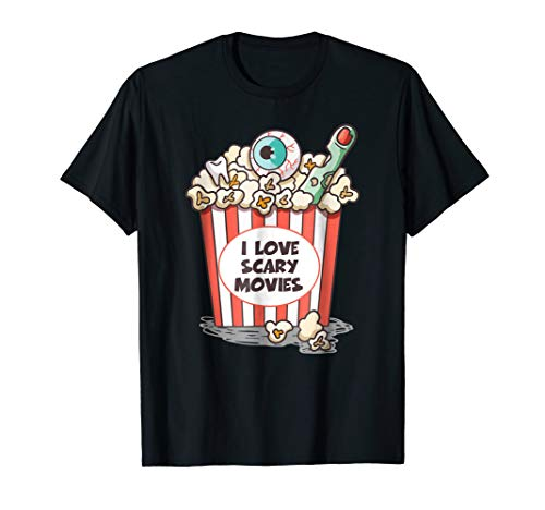 Horror Movies Lover Shirt, Funny Halloween T-Shirt