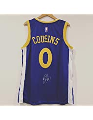 370e25a55 Demarcus Cousins Autographed Signed Golden State Warriors Away Autograph  Jersey Memorabilia PSA DNA COA