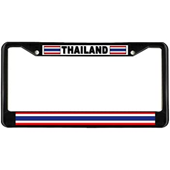 Amazon Com Texas Flag Native Metal License Plate Frame