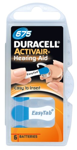 Duracell Hearing Aid Battery (Duracell Size 675 Hearing aid batteries (60 pack))