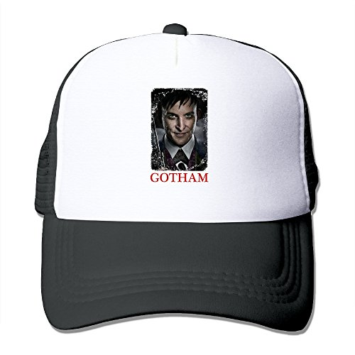 CYANY Gotham Crime Television Series Outdoor Mesh Hat Tour Snapback Hat Adjustable Black