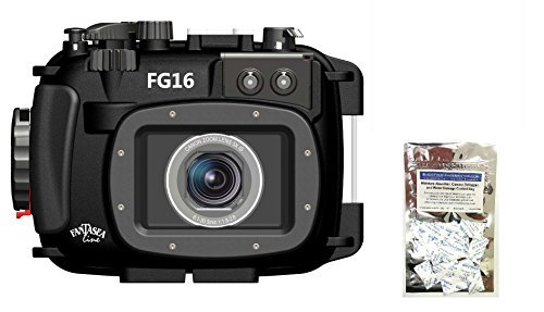 Canon G16 Underwater Camera Housing Fantasea FG16 w/ Free Moisture Absorber by Fantasea