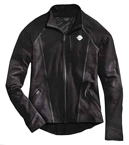 Harley-Davidson Women's Performance Printed Activewear Jacket, 96082-16VW (Harley Womens Activewear)