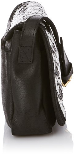 C.Oui - Stromboli 10, Borsa messenger donna, color Nero (Noir), talla onesize