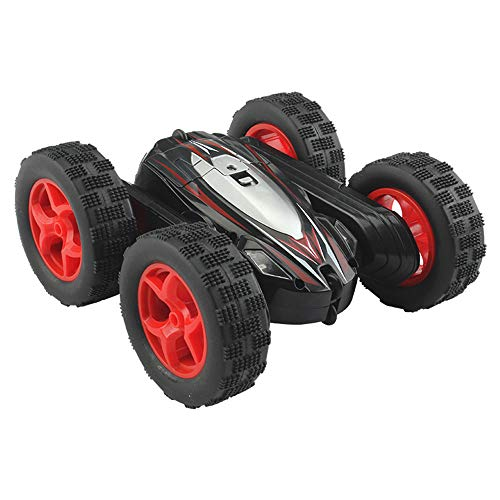 xinzhi RC Stunt Car Toy Black Off-Road Field Outdoors Hobby Collection Spin Around Decor
