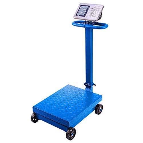 Zyy Electrónico Escamas, Portátil Plegable Doble Cara Monitor Rueda 300kg / 600kg Completamente Adjunto Piano Botón...