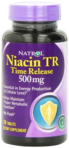 Natrol Niacin Release Tablets 100 Count