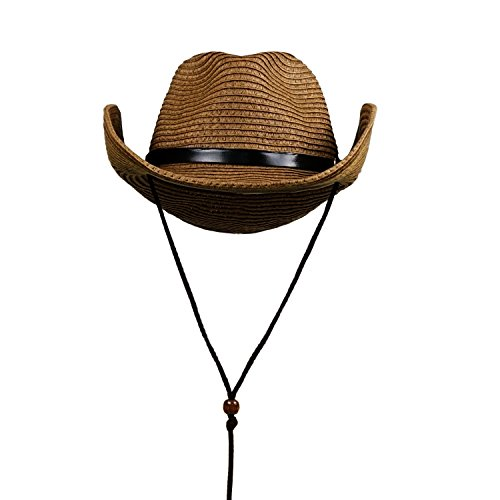 Men's Straw Sun Hat - Summer Cool Woven Straw Fedora Hat Stylish Cowboy - Hat Straw Cool Fedora