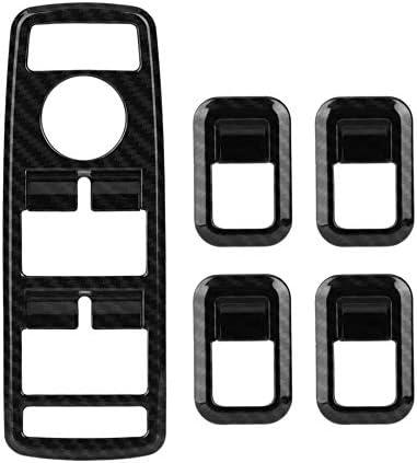 ACAMPTAR Auto Innen Dekor T/ür Fenster Schalter Abdeckung Zier Leisten F/ür Mercedes A B C E Cla Gla Glk Ml Gle Klasse W204