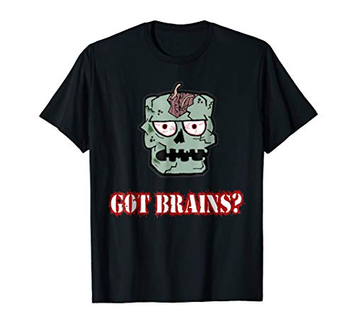 Got Brains? Zombie outbreak animated T-shirt