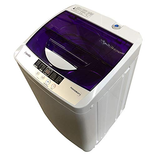 Panda PAN56MGP3 1.6cu.ft Portable Compact Machine, 11lbs Capacity, PAN56MGP3-10 Wash Programs, 8 Water Level, Top Load Cloth Washer, 1.6 cu.ft (Best Top Load Washer And Dryer Combo)