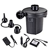 Electric Air Pump, Pstarts Portable Quick-Fill Air