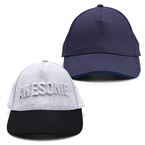 71384904 Amazon.com: accsa Toddler Kids Boy Baseball Cap Awesome Gray and Navy UPF  Sun Protection 2 Pack Age 1-4Y: Clothing