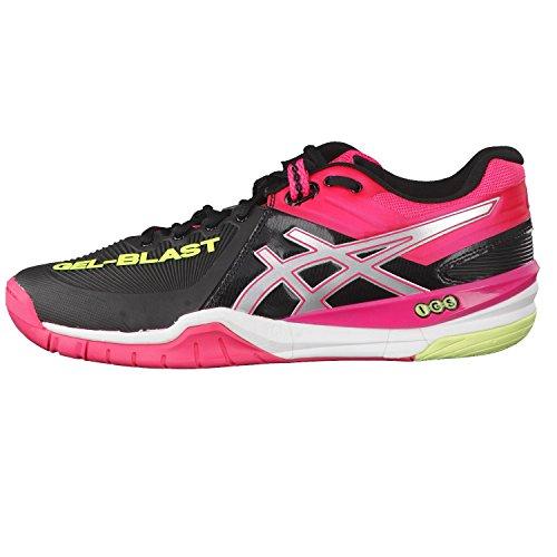 Asics - Gelblast 6 9093 Womens - E463Y9093 - Color: Negro-Rosa - Size: 40.0