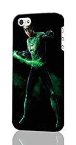 Green Lantern Pattern Image - Protective 3d Rough - Hard Plastic 3D Case - For Iphone 5C Phone Case Cover