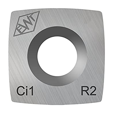 """Authentic Easy Wood Tools Ci1-R2 Square Carbide Replacement Cutter with 2"""" Radius for Full and Pro Size Roughers Lathe Woodturning Tools Ci1-R2 from EASY WOOD TOOLS"""