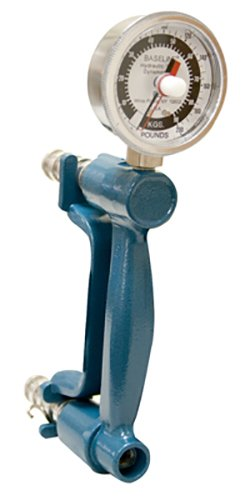 Baseline 200 lb. STD hydraulic hand dynamometer, exercise/feedback model by Baseline