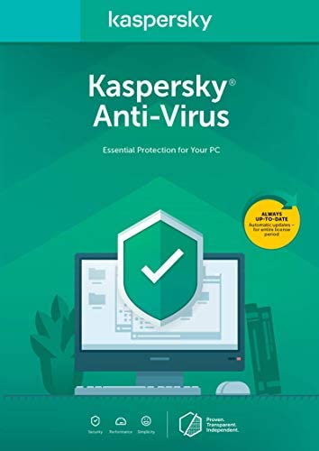 Kaspersky Anti-Virus 2018 | 3 Device | 1 Year [PC Key Code]