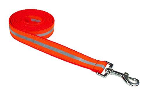 Orange 6' Dog Leash - 7