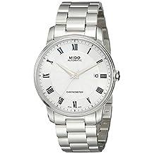 Mido Men's MIDO-M0104081103300 Baroncelli Analog Display Swiss Automatic Silver Watch