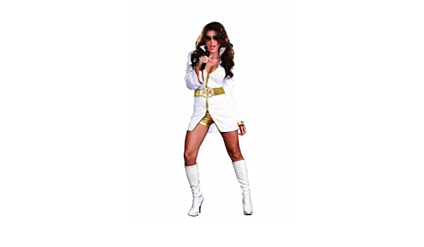 Hilmar Krautwurst - Disfraz de Elvis para mujer, talla L (5899L ...