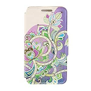 Kinston Art of Flower Diamond Paste Pattern PU Leather Full Body Case with Stand for Samsung Galaxy Note 4