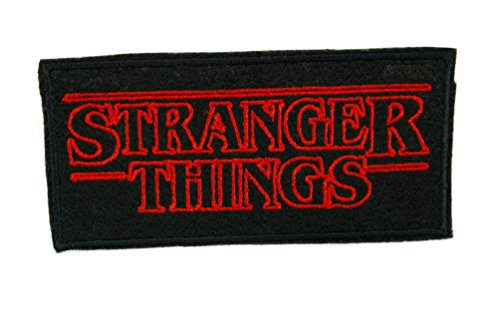 UPC 712190943493, Stranger Things Patch Iron on Applique Alternative Clothing Supernatural Horror Scifi