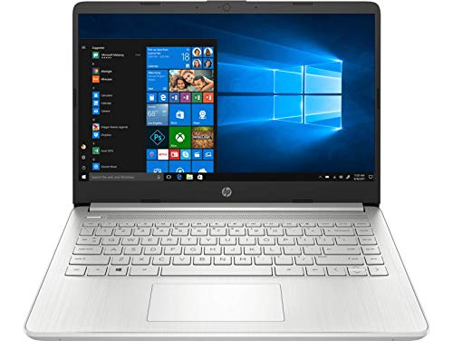 HP 14s dr1006TU 14-inch Laptop (10th Gen Core i7-1065G7/8GB/512GB SSD/Windows 10 Home/Intel Iris Graphics), Natural Silver