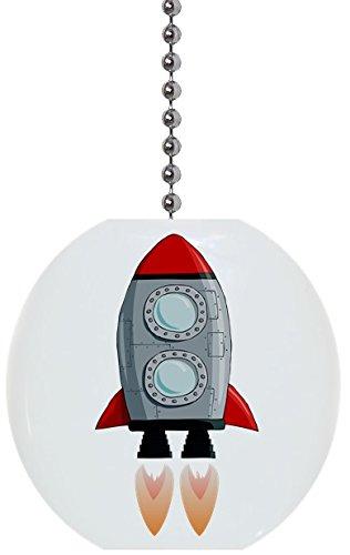 - Rocket with Burner Solid Ceramic Fan Pull