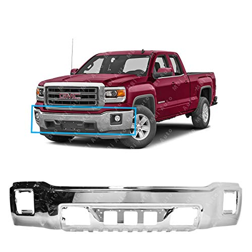 Primered Steel CH1103126 MBI AUTO Rear Bumper Assembly for 2013-2018 RAM 2500 3500 13-18