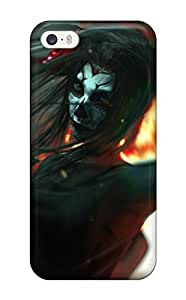 2069380K32206291 Protective Tpu Case With Fashion Design For Iphone 5/5s (women Warrior)