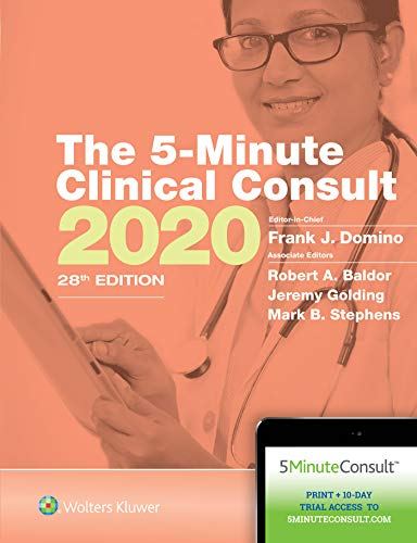 The 5-Minute Clinical Consult 2020 (The 5-Minute Consult Series)