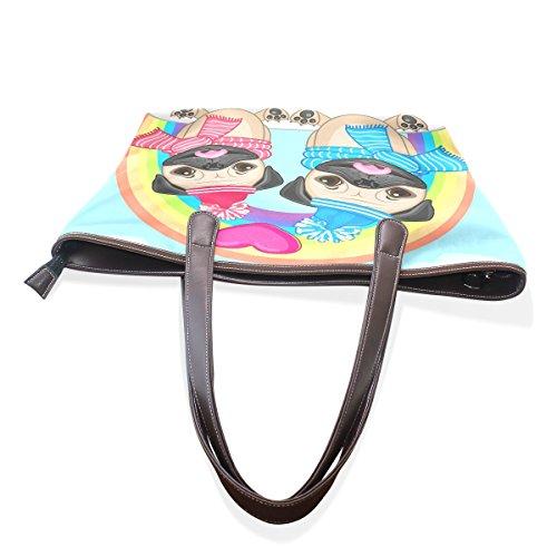pour TIZORAX Multicolore l'épaule porter Sac femme à à 14AU5a4wq